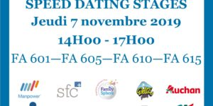 Conférence APEC et Speed Dating stages 2019